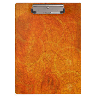 orange abstract background clipboard