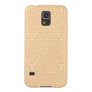 Orange Abstract Pattern by storeman Galaxy S5 Cover