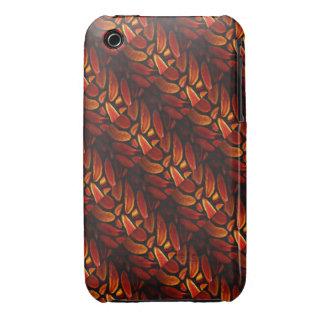 Orange Agate Tiffany Look iPhone 3 Cover