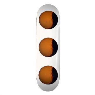 Orange and Black Baseball / Softball Skate Board
