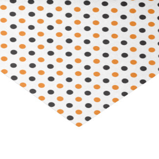 Orange and Black Halloween Tissue Paper