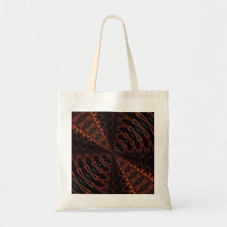 orange and black Tote bag