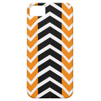 Orange and Black Whale Chevron iPhone 5 Covers