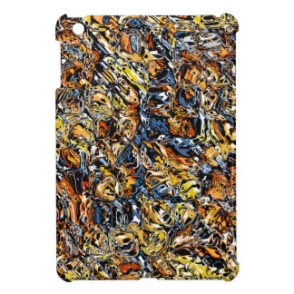 Orange And Blue Abstract Case For The iPad Mini