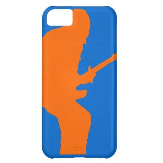 Orange and Blue Guitar Rock iPhone 5C Case