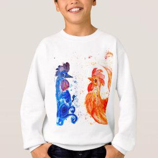 Orange and Blue Roosters Sweatshirt