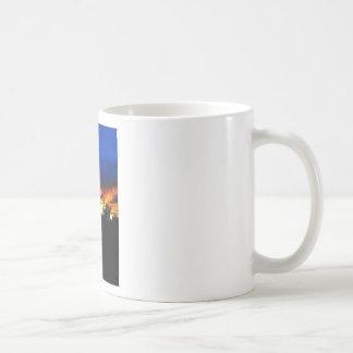Orange and Blue Sunset Mug