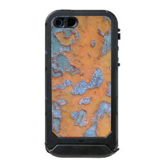 Orange and Blue Tree Bark Incipio ATLAS ID™ iPhone 5 Case