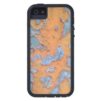Orange and Blue Tree Bark iPhone 5 Cases