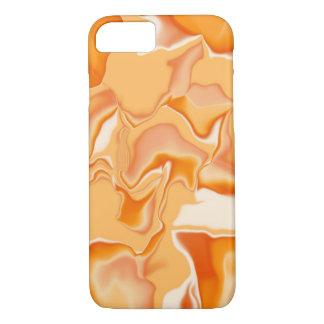 Orange and Cream iPhone Case