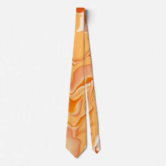 Orange and Cream Neck Tie