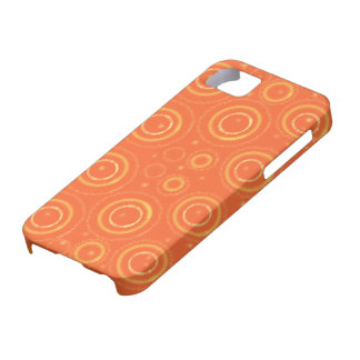 Orange and gold phonecase case for the iPhone 5