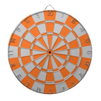 Orange And Gray Dartboards