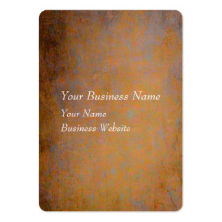 Orange and gray rusty texture business card templates