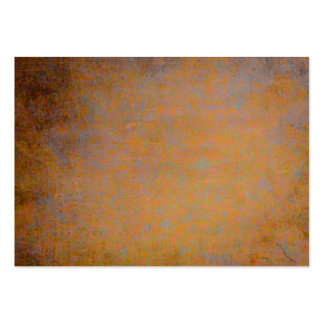 Orange and gray rusty texture business card