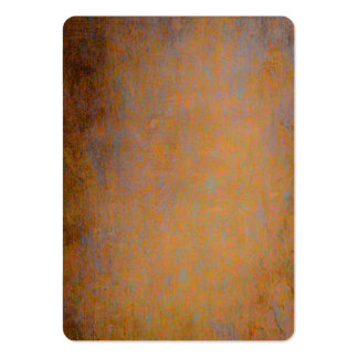 Orange and gray rusty texture pack of chubby business cards