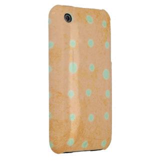Orange and Green iPhone 3 Case