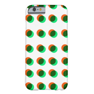 Orange And Green Polcadots Iphone 6 Barely There iPhone 6 Case
