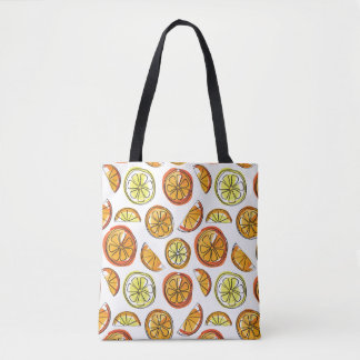 Orange and Lemon Bag - Fruit Tote