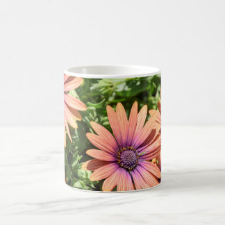 Orange and Purple Flowers Coffee Mug