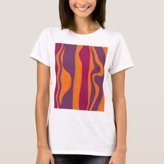 Orange and purple harmony T-Shirt