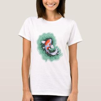Orange and White Koi Fish T-Shirt