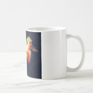 Orange and White Koi on Black Mug
