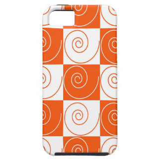 Orange and White Mouse Tails iPhone 5 Cover