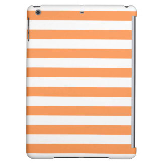Orange and White Stripe Pattern