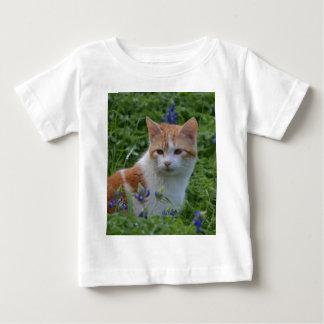 Orange and White Tabby Baby T-Shirt