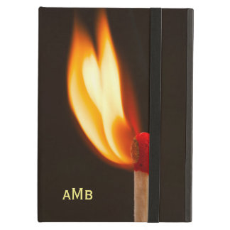 Orange and Yellow Fire Flame iPad Air Covers
