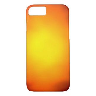Orange and yellow glow iPhone 7 case