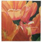 Orange and Yellow Tulips Napkin