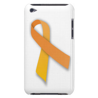 Orange Animal Guardian Awareness Ribbon iPod Touch Cases
