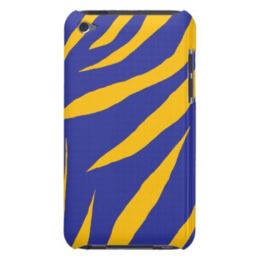 Orange Animal Stripes Barely There iPod Covers