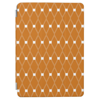 Orange Argyle Lattice iPad Air Cover