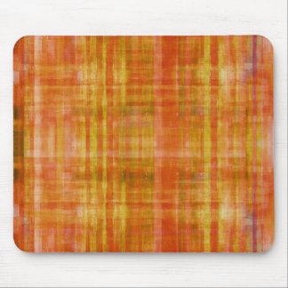 Orange Art Color Painting Mousepad