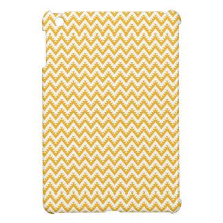 Orange Aztec Chevron Pattern iPad Mini Case