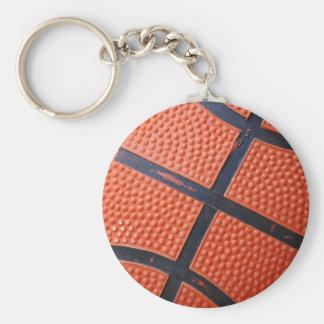 Orange Baseket Ball Keychain
