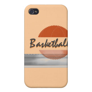 Orange Basketball and Gifts Covers For iPhone 4