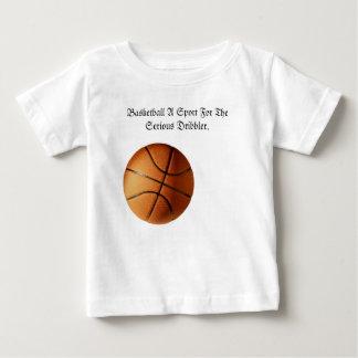 Orange Basketball Serious Dribbler Logo, Baby T-Shirt