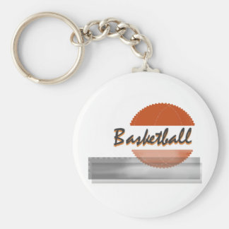 Orange Basketball Tshirts and Gifts Keychain