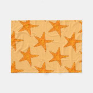 Orange Beach Ocean Starfish Star Fish Blanket