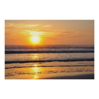 Orange Beach Sunrise Wilbur By The Sea FL Poster