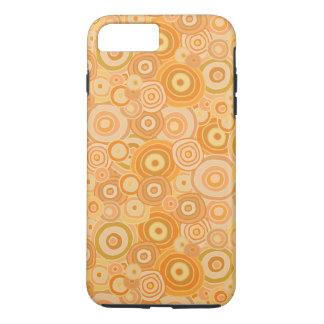 Orange Beach Sunset Circles - Device Cases