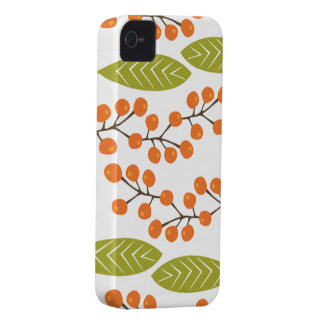 Orange Berries BlackBerry Bold Case iPhone 4 Cover