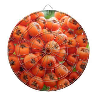 Orange Berries Dartboard