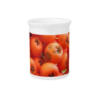 Orange Berries Drink Pitcher