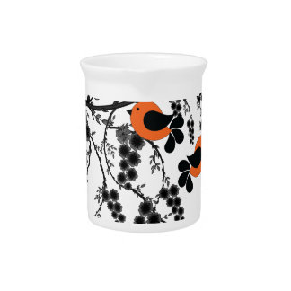 orange birds pitcher