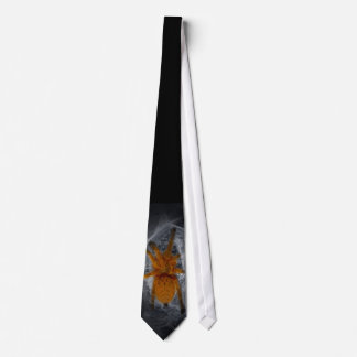 Orange Bity Thing Tie